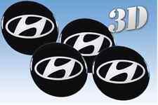 Rad Aufkleber Hyundai 4x56mm Nachahmung alle Größe Mitte Gap Logo-Badge