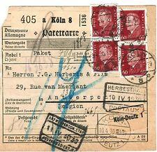 Briefmarken aus dem deutschen Reich (1924-1932) mit Post- & Kommunikations-Motiv