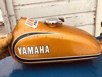 1973 YAMAHA CT 175 OEM FUEL TANK / CAP Nice tank inside Free Shipping