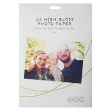 A4 High Gloss Photo Paper - Inkjet, Printer & Photocopiers - 230 gsm