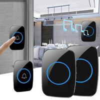 Home Security Wireless Doorbell Waterproof AC 100-240V 300M Range Door Bell