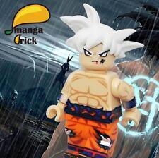 *New* MANGA BRICK Custom Dragon Ball Ultra Instinct Goku Lego Minifigure