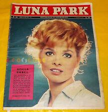LUNA PARK 1961 n. 19 Scilla Gabel, Claudia Mori, Antonella Lualdi
