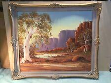 Henk Guth Australian Landscape Framed Oil Painting