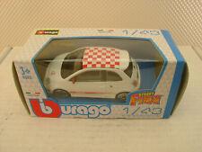 BBURAGO FIAT ABARTH GRANDE PUNTO 1:43 MODEL MINIATURE DIECAST METAL CAR NEW IN B