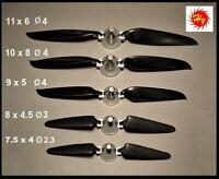 Haoye Folding Propeller / Alu Adapters 7.5 x 4  Ø 2.3