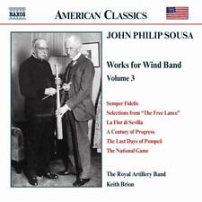 Keith Brion - John Philip Sousa: Music for Wind Band, Vol. 3