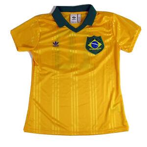 Adidas Originals CBF Brazil Futebol Soccer Brasil Jersey Size Med Unisex 1894
