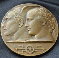 BELGIAN RAILWAY Bronze Medal Marcel Rau1951