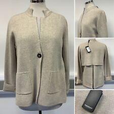 BNWT - Repeat Beige Blazer Cardigan - Size S RRP £165