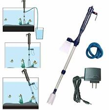 New listing Electric Fish Tank Vacuum Cleaner Syphon Operated Gravel Water Filter Cleaner
