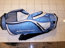 ADAMS GOLF IDEA LIGHT BLUE CART/STAFF BAG