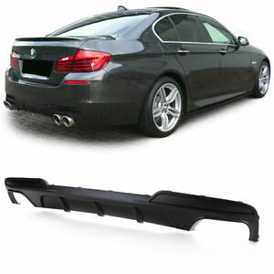 Double Exhaust Rear Bumper Diffuser For BMW F10 F11 M - Sport 2010 - 2018