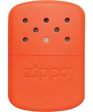 Zippo Refillable Deluxe Blaze Orange Hand Warmer with Pouch 40348 NEW