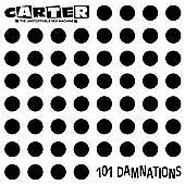 Carter the Unstoppable Sex Machine - 101 Damnations CD 2011 Rock No Marks At All