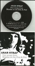 ARAB STRAP Shy Retirer / Little 2TRX SAMPLER Rare 3 INCH PROMO DJ CD Single 2003