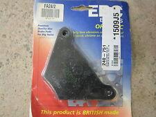 EBC FA24/2, brake pads, ebcfa24/2, fa 24/2