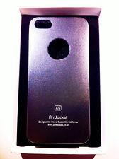 custodia rigida per Apple iPhone 5 5s colore grigio metallizzato in alluminio