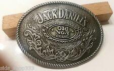 Jack Daniels antique silver color Old No.7 Belt Buckle Western Cowboy 4 X 3