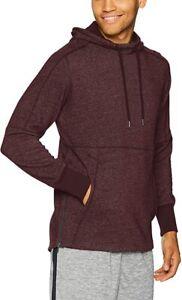 UNDER ARMOUR mens hoodie sweatshirt jumper top  medium maroon gym training