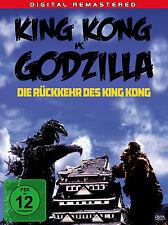 KING KONG vs. gegen GODZILLA - DIE RÜCKKEHR DES KING KONG Ishirô Honda DVD Neu