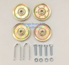 "Extra Heavy Duty 3"" Garage Door Pulley Extension Spring Replacement Kit"