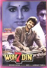 Woh 7 Din (Hindi DVD) (1983) (English Subtitles) (Brand New Origianl DVD)