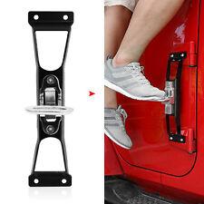 4 PCS Foot pegs Side Step Running Board For Jeep Wrangler JK 2007+ Nerf Bar