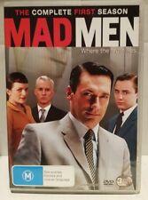 Mad Men : Season 1 (DVD, 2008, 3-Disc Set) Free Shipping (A27)