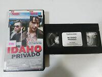 MI IDAHO PRIVADO RIVER PHOENIX KEANU REEVES VHS TAPE COLECCIONISTA CASTELLANO