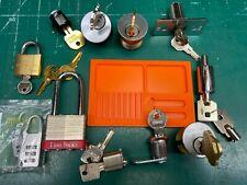 Lock lot - Master Schlage Everest Ace Padlock Cam Lock - Locksmith Locksport
