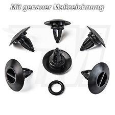 10x Déguisement Fixation clip Pour BMW x3 x5 x6 Mini Cooper | 51777171003