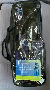 Mirage Watersports Quest Snorkelling Fin,mask & Snorkel In Bag Size M