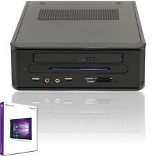 Komplett mini PC Quadcore AMD A4-5000 - 8GB DDR3 - 250GB SSD - Windows 10 Pro