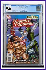 Wonder Woman #29 CGC Graded 9.6 DC April 2009 White Pages Comic Book.