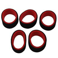 5Pcs 2-Color RC Cars Transmitter Stee Wheel Foam Grip Hand Wheel Sponge for Q8A8