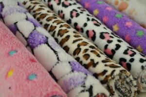 SUPER SOFT CUDDLE polar100%  for dog blankets  width 160