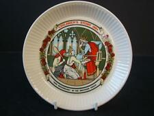 WEDGWOOD QUEENSWARE CHILDRENS STORY PLATE KING ROUGHBEARD BROTHERS GRIMM 1984