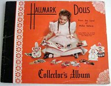 Vintage 1950's Hallmark Doll's From the Land of Make Believe Collector's Album *