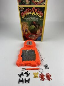 VTG 1980 Beware The Spider Game By Ideal Motor WORKS, Spider Replaced