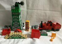 Vintage Lego Duplo Thomas & Friends Bits - Parts Of Cranky James & Misc Parts
