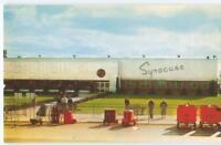NY Syracuse Hancock Airport Terminal Building 1950s Antique Postcard  25768