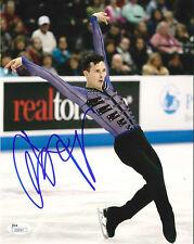 ADAM RIPPON SIGNED 8X10 PHOTO 8 JSA 2018 OLYMPICS FIGURE SKATING PYEONGCHANG USA