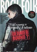 Rock & Folk #510 -DUTRONC- Gov't Mule, Kasabian, Zak Laughed, Bjorn Berge,...