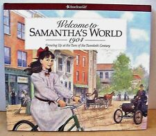 American Girl Welcome to Samantha's World Hardcover Book