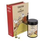 PACK TINTIN AU CONGO CAFE LION hergé moulinsart limité à 3000 exemplaires