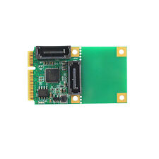 6Gbps Mini PCIe to 2 Ports SATA 3.0 Adapter Controller Expansion Card