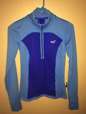 Hollister California Women's Sport Pullover Long Sleeve Blue (S)