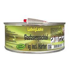 Glasfaserspachtel 1kg & Härter  Faserspachtel Spachtelmasse
