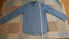 Verkaufe Herren Hemd Thommy Hilfiger , langarm,  hellblau weiss, new York fit,L
